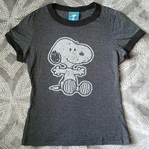 Peanuts Tops - Peanuts Snoopy T-Shirt