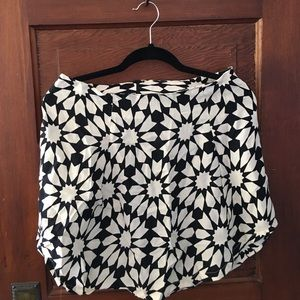 Reformation Mod Floral Mini Skirt