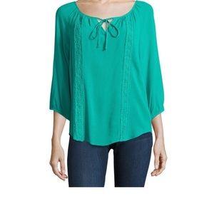 Alyx Tops - 3/4 sleeve crepe blouse