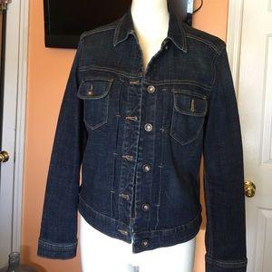 Lee Jackets & Blazers - Dark blue denim jacket size medium