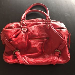 Red Deena & Ozzy slouchy bag from Urban Outfitters