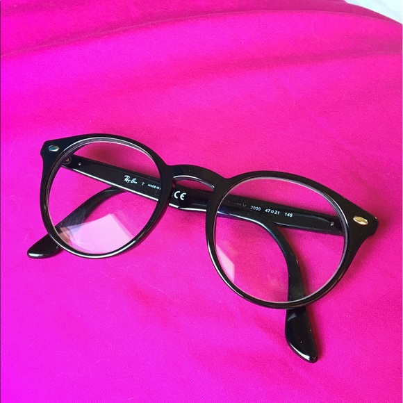 c618c2fe21 Ray-Ban Accessories - Ray-Ban Black Eyeglasses - Round