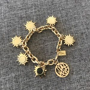 Lilly Pulitzer Jewelry - Lilly Pulitzer - Gold Sun Charm Bracelet.