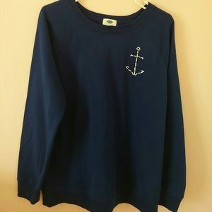 Old Navy navy sweater