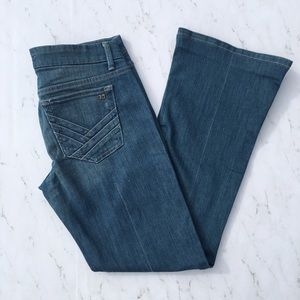 "Joe's Jeans Denim - Joe's Size 29 30"" Rocker Denueve Medium Wash Jeans"