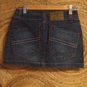 Rampage Dresses & Skirts - Rampage Jean Mini Skirt - NWT size 0