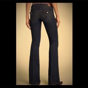 Paige Jeans Pico Low Rise Boot Cut Sz 32