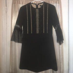 FEW MODA Dresses & Skirts - FEW MODA NY black crochet dress