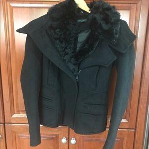 Gracia Jackets & Blazers - Gorgeous Black Jacket SZ M with detachable Collar