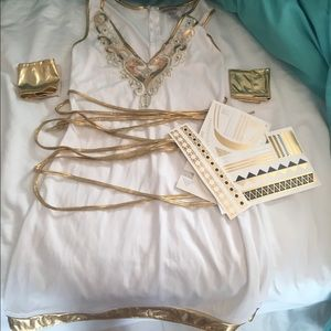 Halloween Costume (Greek Goddess)