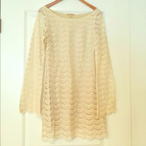 Melissa Odabash Dresses & Skirts - Melissa Odabash Ivory Lace Dress - Size Small