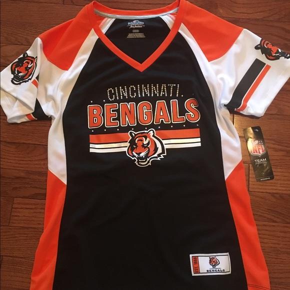 a3b9d8eb41a Majestic Tops | Nfl Cincinnati Bengals Womens Jersey Tee | Poshmark
