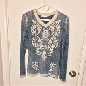 Cabi V-Neck Pullover Sweater