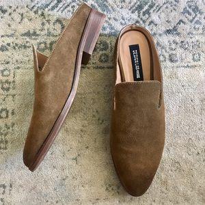 Design Lab Shoes - NWOT Design Lab Lord & Taylor Ellie Suede Mules