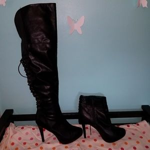 Charlotte Russe Shoes - Over the knee boots