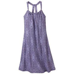 PrAna purple Quinn Lupine halter dress medium