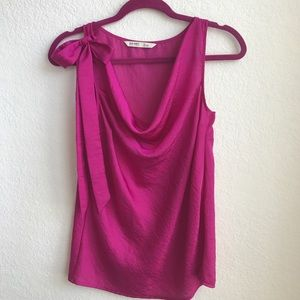 OLD NAVY SATIN BLOUSE PINK