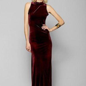 MINKPINK Dresses & Skirts - MinkPink Velvet Maxi Dress