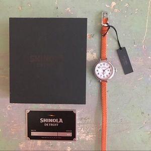 Shinola Accessories - Shinola Birdy Double Wrap Watch