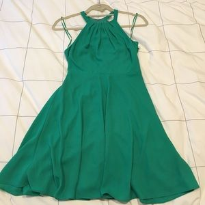 PRICE DROP ❤️EXPRESS SZ 0 EMERALD DRESS