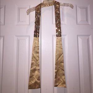 Accessories - Gold sequin headband/belt