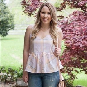 Old Navy Tops - Old Navy peplum top