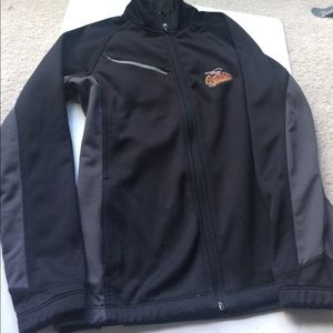 Antigua Jackets & Blazers - Baltimore Oriole's Baseball Sports Fan Jacket