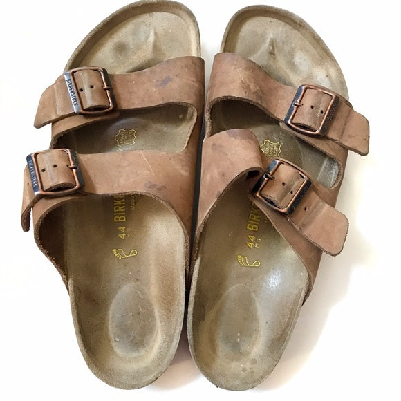 Birkenstock Mens Leather Sandals 46 Mens 13 In 2019 My