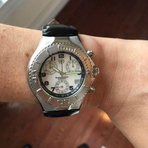 Technomarine Accessories - Technomarine leather watch