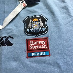 Professional rugby - game worn jersey
