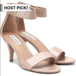 Steve Madden Shoes - *HP!* Steve Madden nude strap Paatsy heels 9.5
