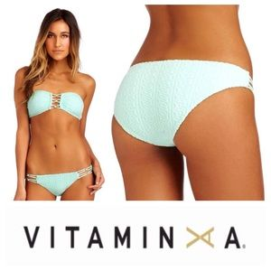 Vitamin A Other - NEW!  Vitamin A Karlie beaded hipster bottoms