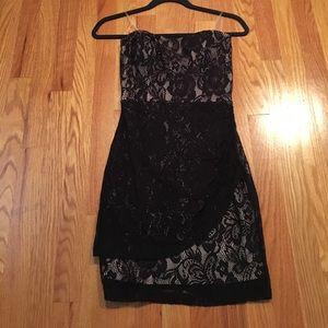 Mystic Dresses & Skirts - NWOT Strapless black lace dress
