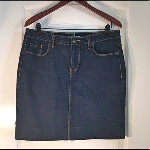 Apt. 9 Dresses & Skirts - Apt. 9 Dark Denim Skirt