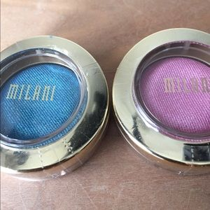 Milani Other - Bella Gel Powder Eyeshadow, Teal & Rose