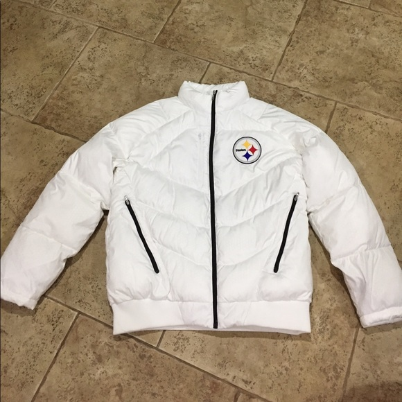 on sale 0ed96 49035 Pittsburgh Steelers Puffer Jacket