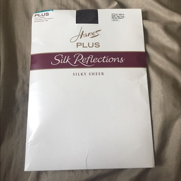 Worn Hanes Pantyhose Silk Reflection 91