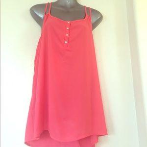 Pink Rose Dresses & Skirts - PINK ROSE STRAPS TOP