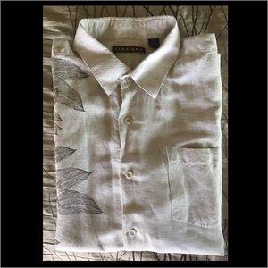 Cubavera Other - Cubavera Mens linen and rayon button down shirt.