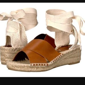 Soludos Shoes - Cross cross demi wedge sandal