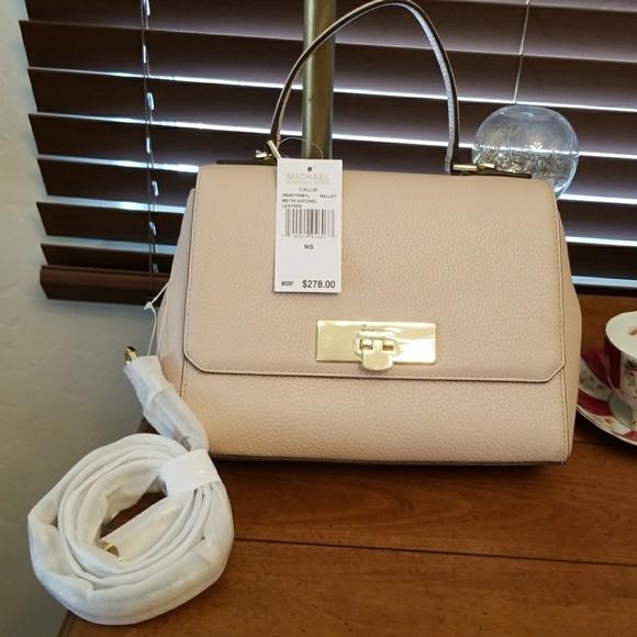 ed1945165467 MICHAEL Michael Kors Bags   Michael Kors Callie Ballet Leather ...
