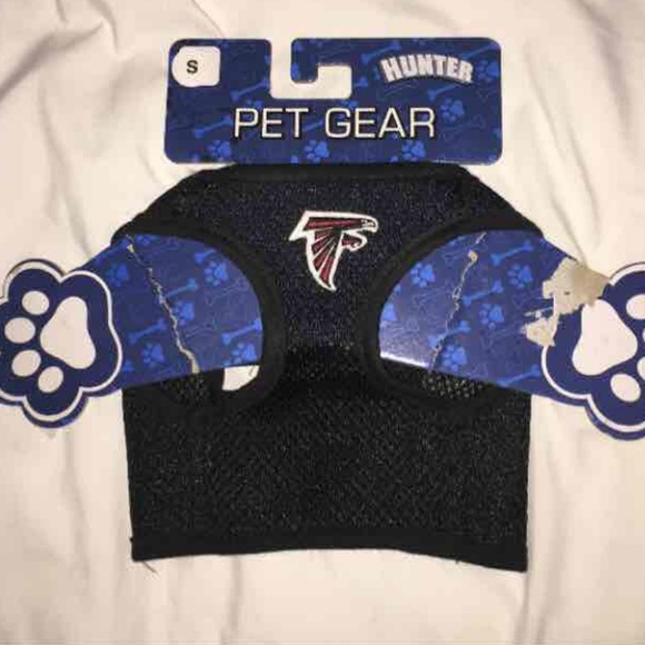 new products 6ea73 fc57d Free gift. pet gear ATLANTA Falcons dog harness NWT