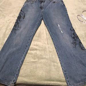 65 off inc denim woman denim inc denim woman skinny leg jeans from