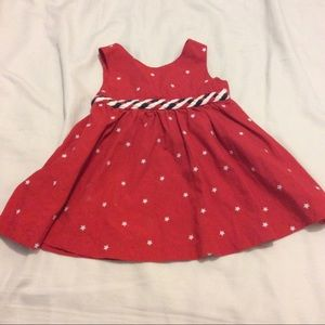 4th of July infant baby girl dress