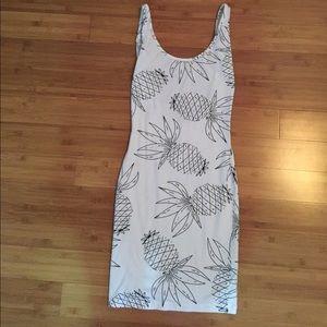 ASOS Pineapple Bodycon Dress