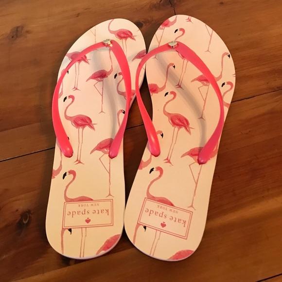 fce50e742e94 kate spade Shoes - Kate Spade ♤ Flamingo Flip Flops🌺SALE!