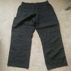Allen Allen Pants - allen allen linen pants - sz 1x