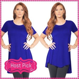 Passion of Essense Tops - 5/26 HP 🎉 JUST IN Blue High Low Tunic Top