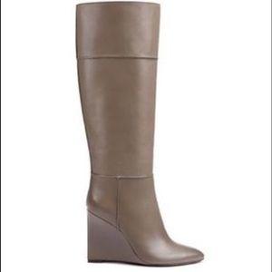 NEW Tory Burch Linnett Wedge Boots