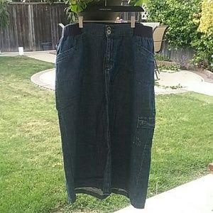 Liz & me Dresses & Skirts - Liz & Me Jean skirt plus size